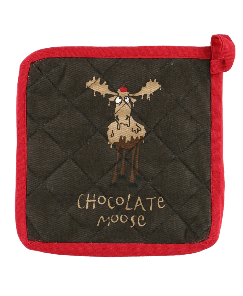 Chocolate Moose Pot Holder - Lazy One®